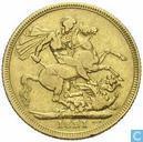 Royaume-Uni un souverain 1821