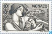 Postage Stamps - Monaco - Beneficence
