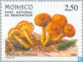 Postage Stamps - Monaco - Mushrooms