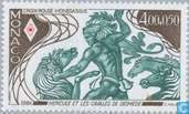 Postage Stamps - Monaco - Works of Heracles