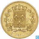 Frankrijk 40 francs 1830 (A)
