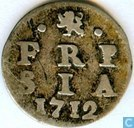 Friesland 2 pence 1712