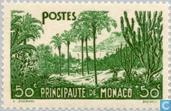 Postage Stamps - Monaco - Landscapes of the Principality