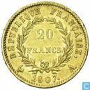 France 20 francs 1807