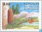 Postage Stamps - Monaco - Conifers in Mercantour Park