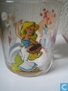 Asterix Nutella glas