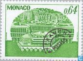 Postzegels - Monaco - Congrescentrum