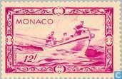 Timbres-poste - Monaco - Prince Albert I