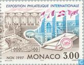 Postzegeltent. MONACO '97