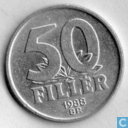 Hungary 50 fillér 1988