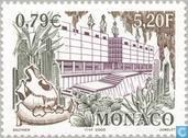 Postzegels - Monaco - Observatie-grotten