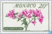 Timbres-poste - Monaco - Fleurs