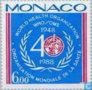Timbres-poste - Monaco - L'OMS