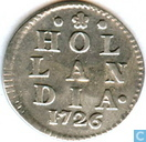 Coins - Holland - Holland 2 stuivers 1726