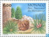 Briefmarken - Monaco - Koniferen in Mercantour Park