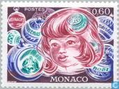 Postage Stamps - Monaco - Baby Faces