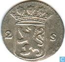 Münzen - Holland - Holland 2 Stuivers 1726