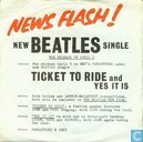 Disques vinyl et CD - Beatles, The - Ticket to Ride