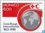 Postage Stamps - Monaco - 125 years red cross
