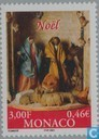 Postage Stamps - Monaco - Christmas Nativity