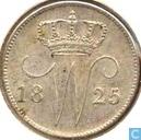 Nederland 25 cent 1825 (B)