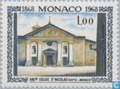 Postzegels - Monaco - Abdij Monaco