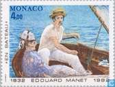 Postage Stamps - Monaco - Famous artists