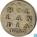 Munten - Holland - Holland 2 stuivers 1767