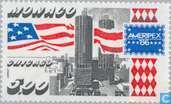 Postage Stamps - Monaco - Ameripex ' 86