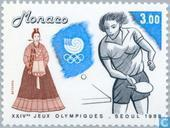 Postage Stamps - Monaco - Olympic Games