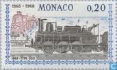 Postage Stamps - Monaco - Rail services Nice-Monaco 1868-1968