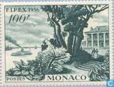 Postage Stamps - Monaco - FIPEX exhibition New York