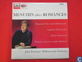 Menuhin plays romances