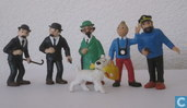 Tintin and friends