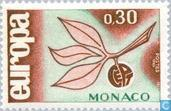 Postage Stamps - Monaco - Europe – Twig and Fruit