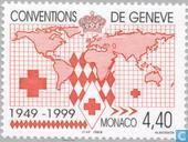 Briefmarken - Monaco - Genfer Konvention 1949-1999