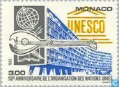 Postage Stamps - Monaco - Int. organizations 1945-1995