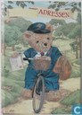 adressenboekje beer op fiets