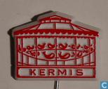 Kermis (pêche canard) [rouge sur blanc]