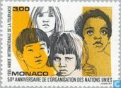 Timbres-poste - Monaco - Int. organisations 1945-1995