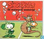 De waterpolo wedstrijd