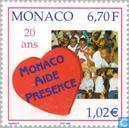 Postzegels - Monaco - Hulporganisatie Monaco 1979-1999