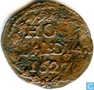 Holland 1627 penny
