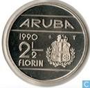 Aruba 2½ florin 1990