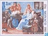 Briefmarken - Monaco - Mozart, Wolfgang Amadeus