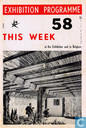 Exhibition programme Expo 58 no. 17 + This week at the exhibition and in Belgium