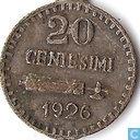 San Marino 20 centesimi 1926