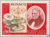 Briefmarken - Monaco - Cayley, Sir George