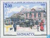 Postage Stamps - Monaco - Monte Carlo in the Belle Epoque