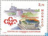 Postzegels - Monaco - Congrescentrum 1979-1999